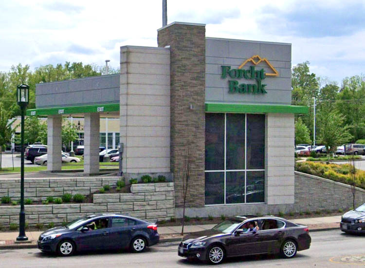 Exterior view of Forcht Bank