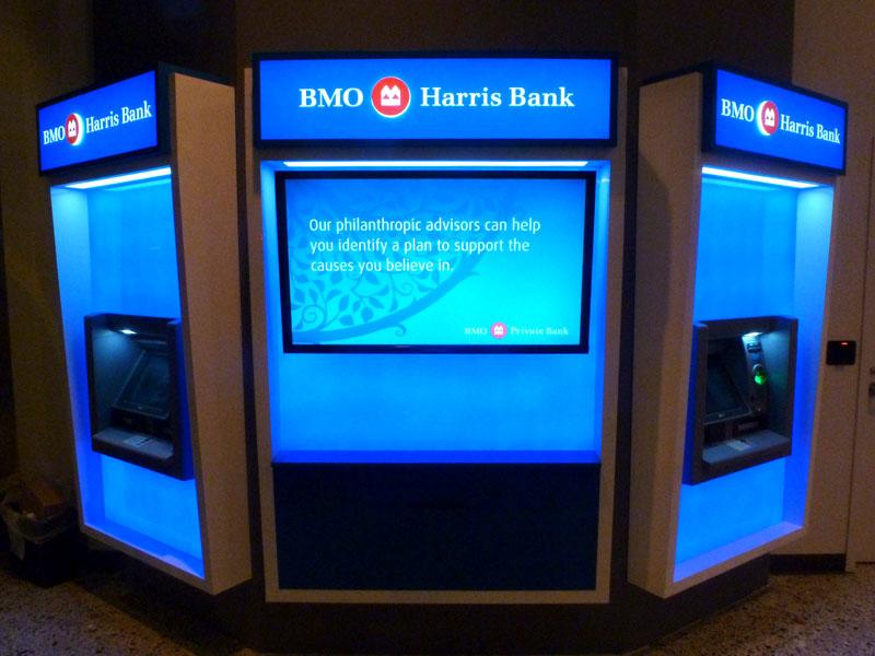 Updated BMO ATM vestibule