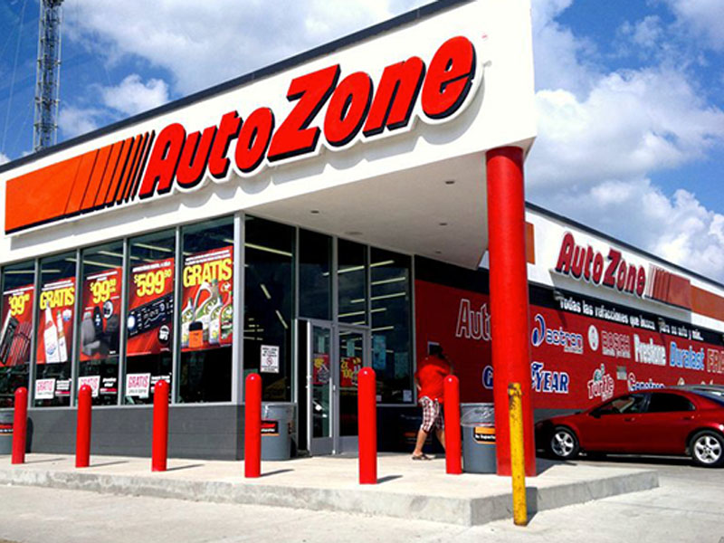 Outside view of Autozone